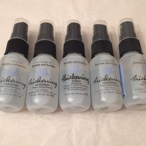 BNWT Bumble and bumble Thickening Spray SET OF 5